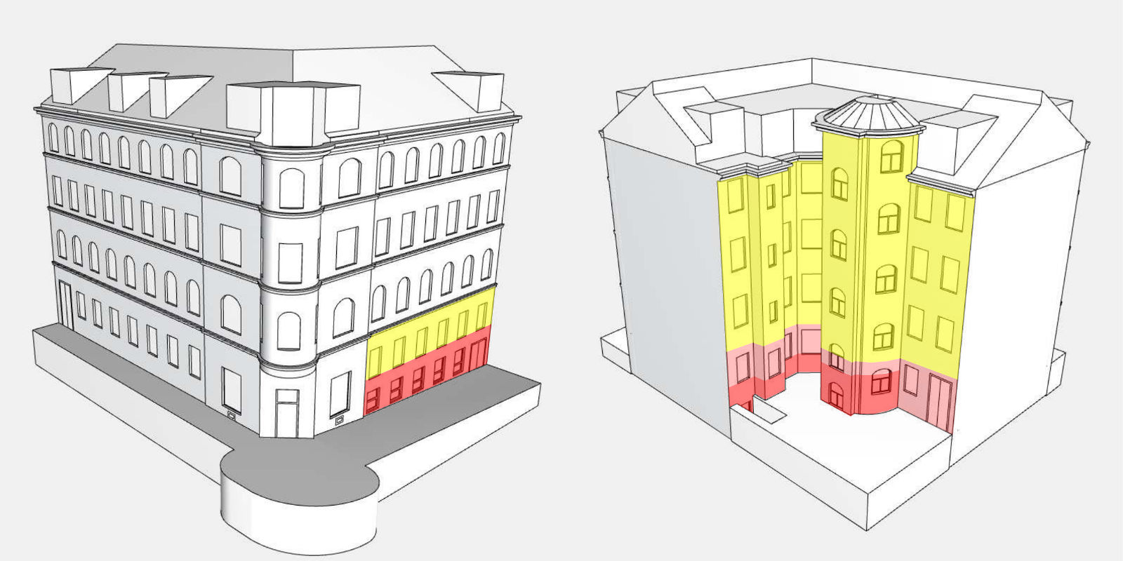 Revitalisierung Wohnhaus Meiselstraße