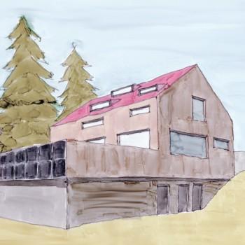 Annaberger Haus Studie Neubau